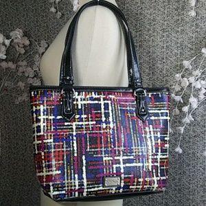 2/$30 Nine&Co Paint Splatter Handbag